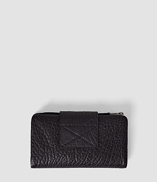 Mujer Paradise Japanese Leather Wallet (Navy/Black) - product_image_alt_text_3