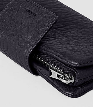 Mujer Paradise Japanese Leather Wallet (Navy/Black) - product_image_alt_text_5