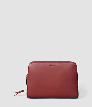 Damen Makeup Case (SAHARA RED)