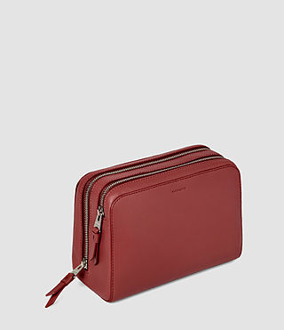 Women's Makeup Case (SAHARA RED) - product_image_alt_text_2