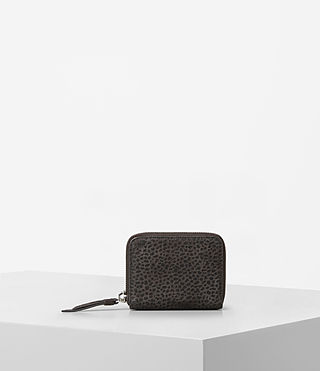 Womens Echo Mini Wallet (Graphite/Black)