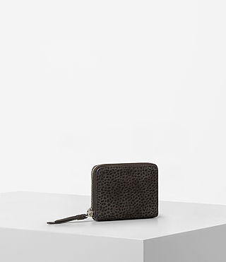 Women's Echo Mini Wallet (Graphite/Black) - product_image_alt_text_3
