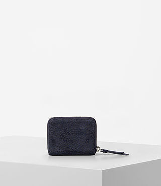 Mujer Echo Mini Wallet (MARINE BLUE/BLACK) - product_image_alt_text_4