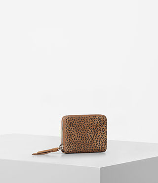 Womens Echo Mini Wallet (CARAMEL/BLACKBERRY) - product_image_alt_text_3