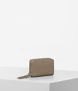 Women's Fetch Cardholder (ALMOND BROWN) - Image 3