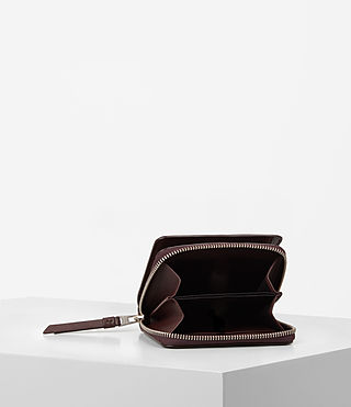Mujer Junai Medium Wallet (PRUNE) - product_image_alt_text_4