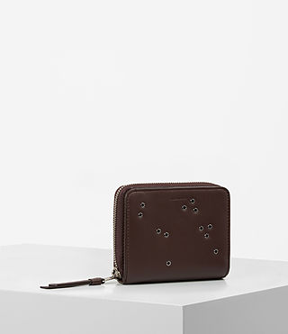 Mujer Junai Medium Wallet (PRUNE) - product_image_alt_text_5