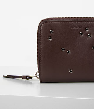 Mujer Junai Medium Wallet (PRUNE) - product_image_alt_text_6