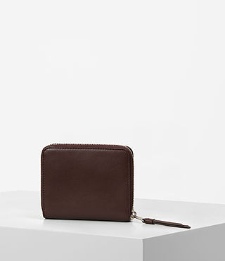 Mujer Junai Medium Wallet (PRUNE) - product_image_alt_text_7