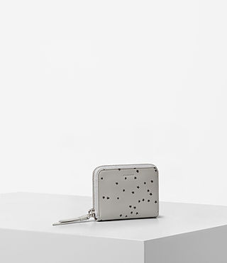 Womens Echo Mini Wallet (LIGHT CEMENT GREY) - product_image_alt_text_3