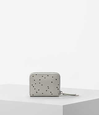 Womens Echo Mini Wallet (LIGHT CEMENT GREY) - product_image_alt_text_4