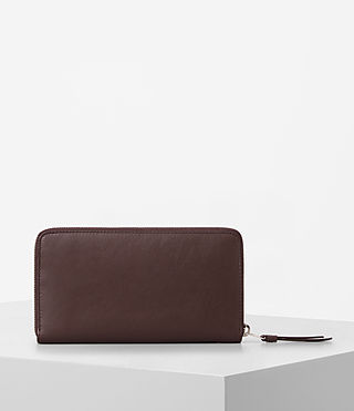 Womens Junai Leather Wallet (PRUNE) - product_image_alt_text_4