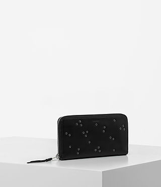 Mujer Junai Wallet (Black) - product_image_alt_text_4