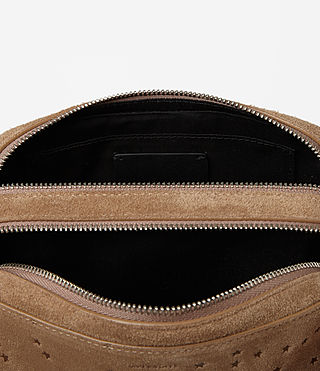 Women's Echo Makeup Case (LIGHT CARAMEL) - product_image_alt_text_3