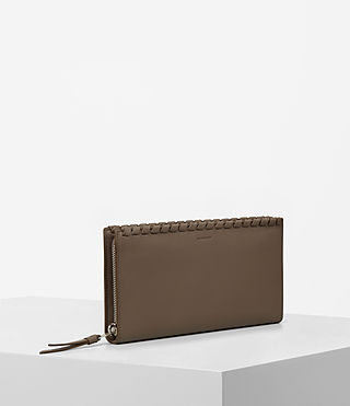 Femmes Kita Leather Wallet (Mink) - product_image_alt_text_2