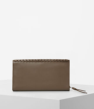 Femmes Kita Leather Wallet (Mink) - product_image_alt_text_3