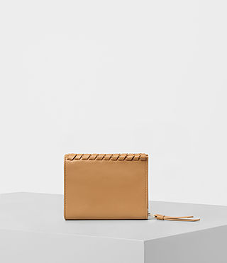 Womens Kita Small Leather Wallet (LIGHT CARAMEL) - product_image_alt_text_4