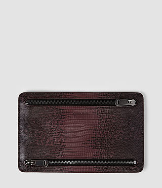 Womens Travel Currency Holder (Burgundy)