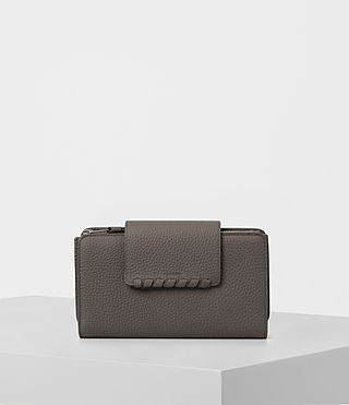 Donne Kita Japanese Wallet (MINK GREY)