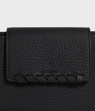 Womens Kita Japanese Wallet (Black) - product_image_alt_text_4