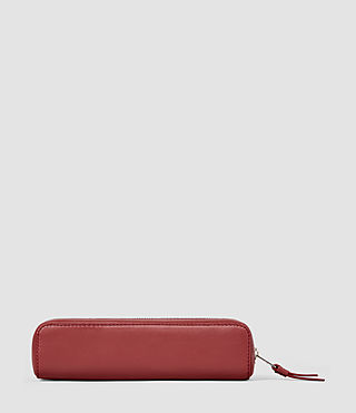 Donne Fleur De Lis Mini Pencil Case (SAHARA RED) - product_image_alt_text_3