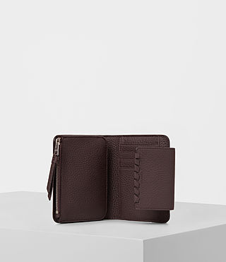 Womens Kita Japanese Mini Wallet (PRUNE) - product_image_alt_text_3