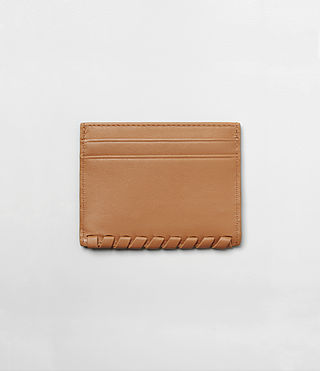 Womens Kita Leather Cardholder (LIGHT CARAMEL) - product_image_alt_text_4