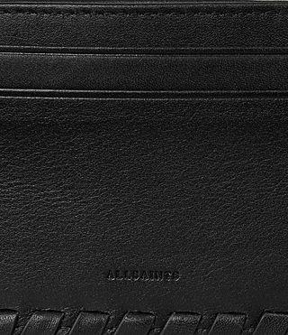 Mujer Kita Leather Cardholder (Black) - product_image_alt_text_2