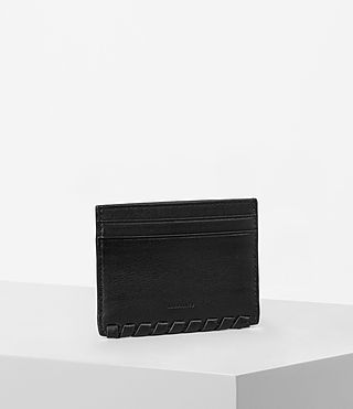 Mujer Kita Leather Cardholder (Black) - product_image_alt_text_3