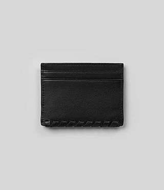 Damen Kita Leather Cardholder (Black) - product_image_alt_text_4
