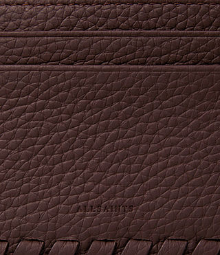Womens Kita Leather Cardholder (PRUNE) - product_image_alt_text_2