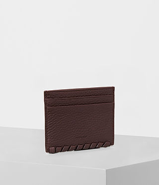 Womens Kita Leather Cardholder (PRUNE) - product_image_alt_text_3