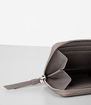 Damen Kanda Mini Leather Wallet (Oyster Grey) - product_image_alt_text_2