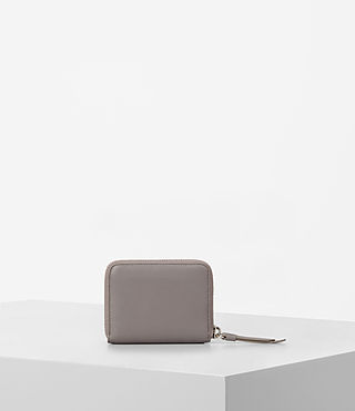 Damen Kanda Mini Leather Wallet (Oyster Grey) - product_image_alt_text_4