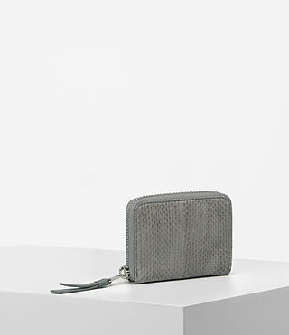 Womens Kanda Mini Snake Wallet (Oyster Grey) - product_image_alt_text_3