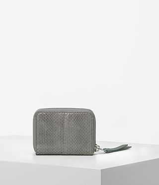 Womens Kanda Mini Snake Wallet (Oyster Grey) - product_image_alt_text_5