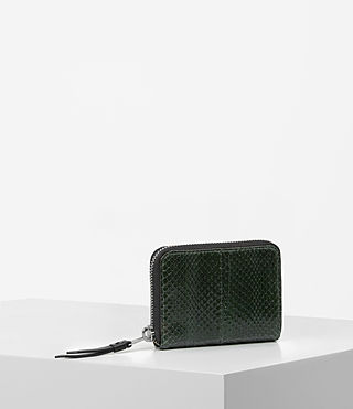 Damen Kanda Mini Snake Wallet (Forest Green) - product_image_alt_text_3