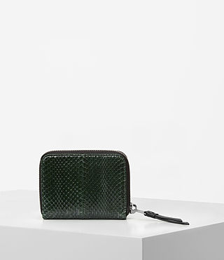 Damen Kanda Mini Snake Wallet (Forest Green) - product_image_alt_text_5