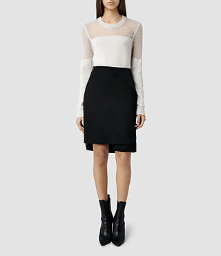 Womens Myla Skirt (Black)