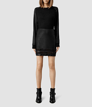 Womens Taura Skirt (Black)