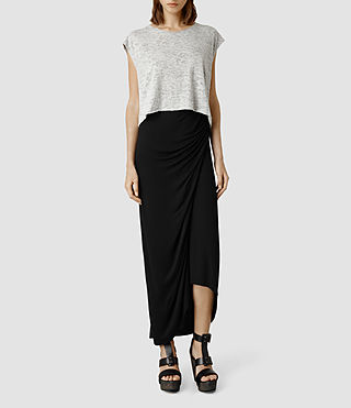 Womens Sibyl Skirt (Black)