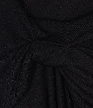 Womens Riviera Skirt (Black) - product_image_alt_text_4