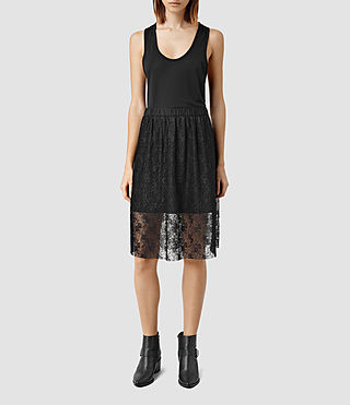 Womens Lara Skirt (Black)