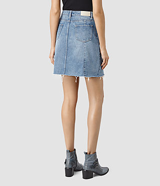 Mujer Conny Denim Skirt (Indigo Blue) - product_image_alt_text_4