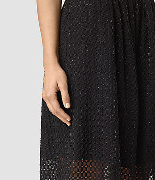 Womens Milda Skirt (Black) - product_image_alt_text_2