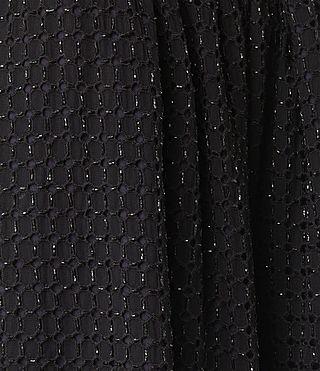 Womens Milda Skirt (Black) - product_image_alt_text_6