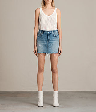 betty denim skirt