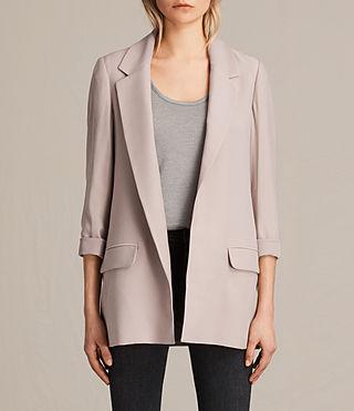 Mujer Aleida Blazer (Dusty Pink) - product_image_alt_text_1