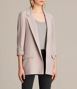 Mujer Aleida Blazer (Dusty Pink) - product_image_alt_text_2