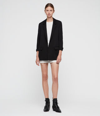 Womens Aleida Blazer (Black)